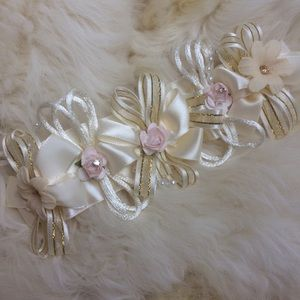Other - Bridal christening special handmade baby headband